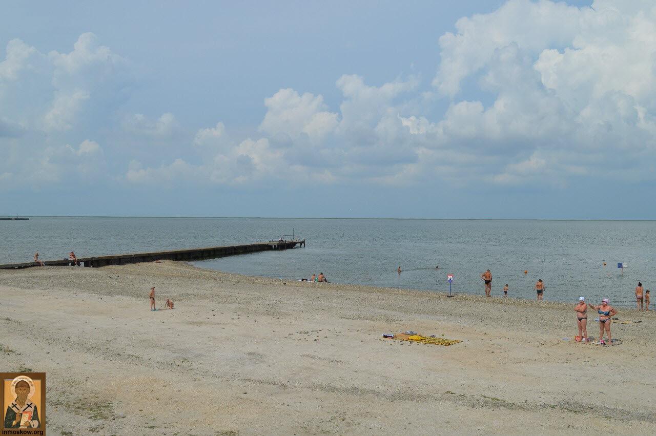 Фото пляжей в приморске азовское море