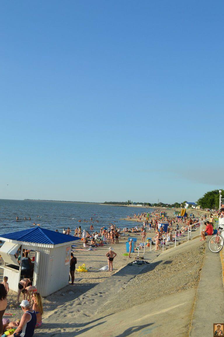 Пляжи на Черном море. Пляжи в Крыму. Пляжи Азовского моря 45