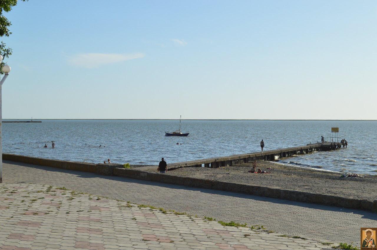 Пляжи на Черном море. Пляжи в Крыму. Пляжи Азовского моря 62