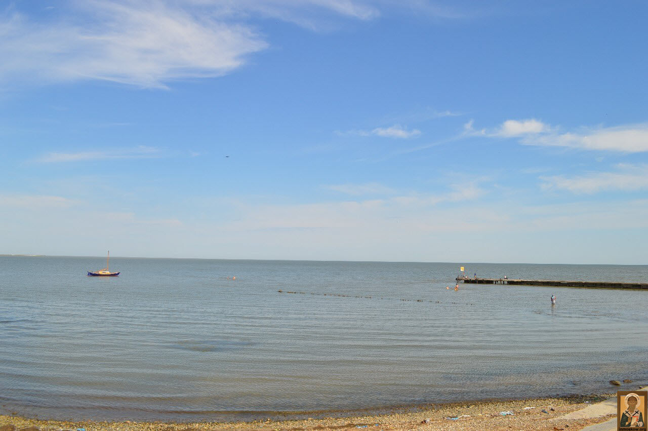 Пляжи на Черном море. Пляжи в Крыму. Пляжи Азовского моря 58